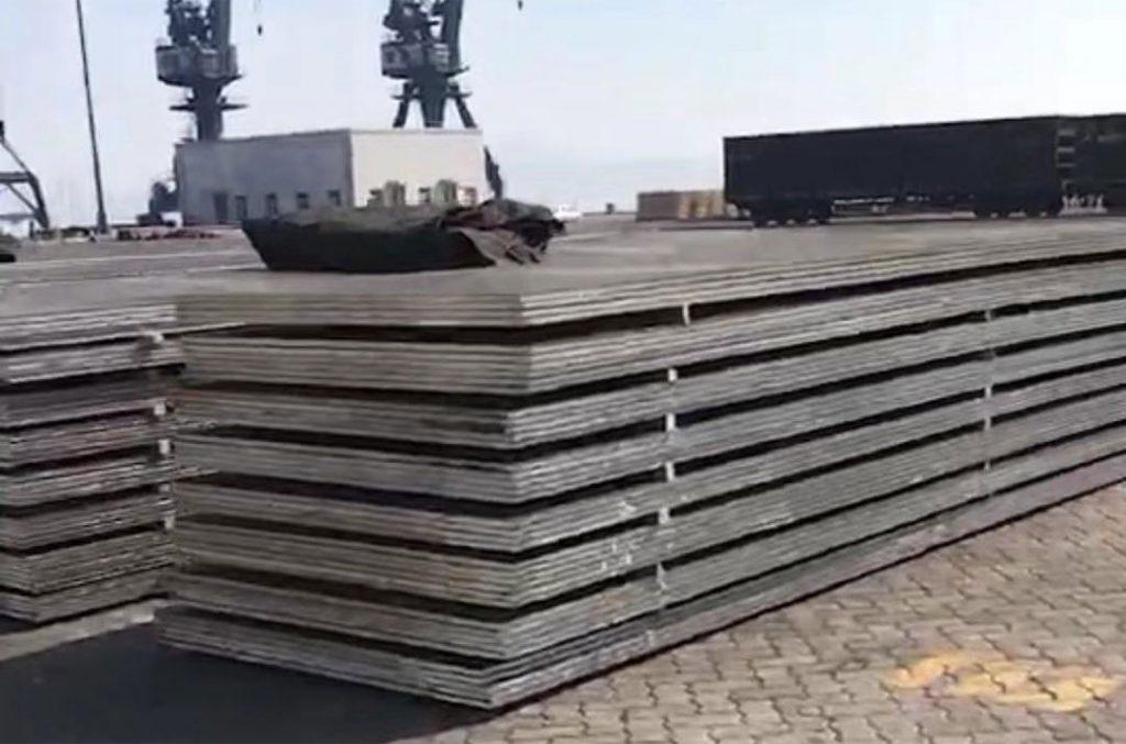 敷鉄板(敷板)